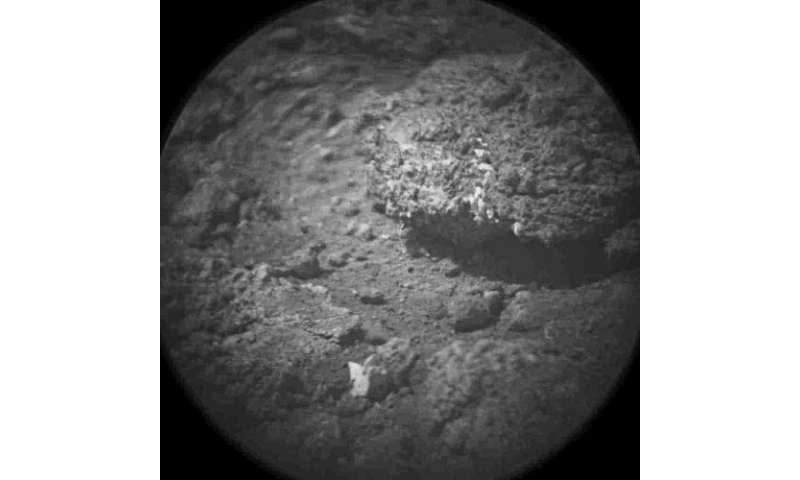 Take a look through Curiosity's ChemCam