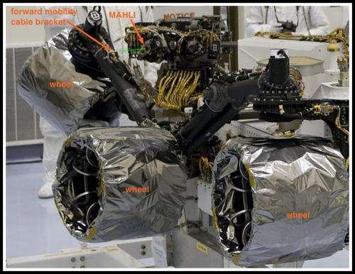 Take a peek inside Curiosity's shell