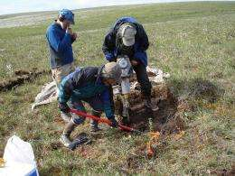 Thawing tundra a new climate threat