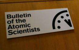 The Bulletin of Atomic Scientists created the Doomsday clock in 1947