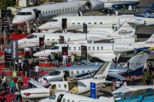 The country has 1,650 corporate jets, used by those who can afford to escape the urban traffic chaos