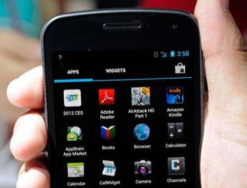 The Galaxy Nexus smarthphone