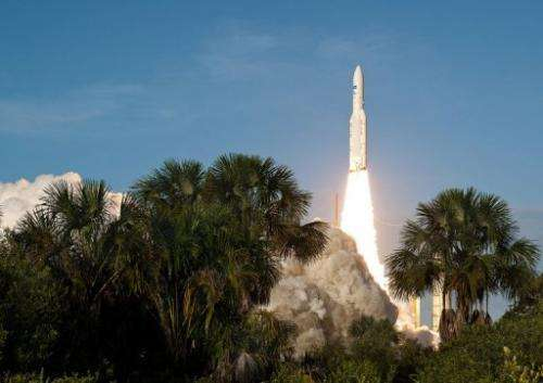The maiden mission for Ariane 6, a launcher promoted by France, is scheduled for 2021-2022