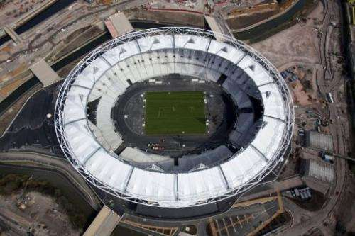 The Olympic Stadium has been built using low carbon materials