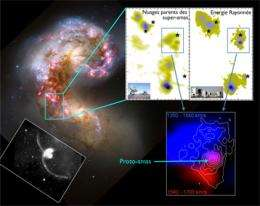 The turbulent birth of super star clusters in galaxy mergers