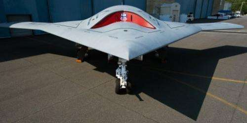 The X47B is a plane-sized drone able to take off and land on aircraft carriers without a pilot