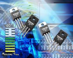 Toshiba expands family of high-speed, low-voltage MOSFETs with new 60V and 120V devices