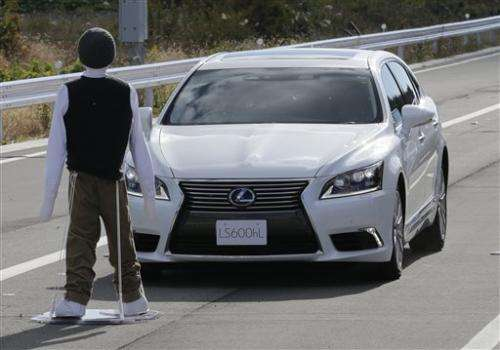 Toyota tests cars that communicate with each other