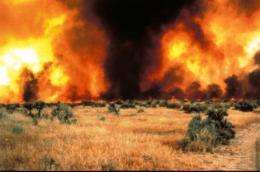 Tracking invasive cheatgrass role in larger, more frequent Western fires
