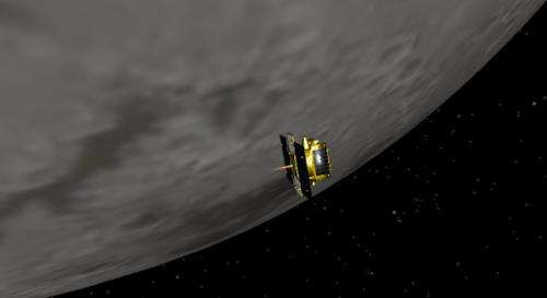 Twin Grail spacecraft reunite in lunar orbit
