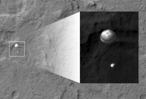 UA Mars camera helped find landing spot, snaps photo of rover