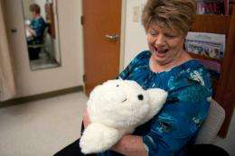 UC Irvine studies therapy robot's effect on chemo patients