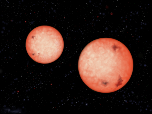 UKIRT discovers 'impossible' binary stars
