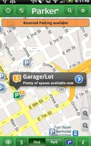 Partnership bringing real-time parking information to urban motorists