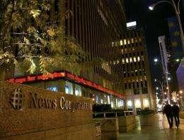 US-AUSTRALIA-MEDIA-NEWSCORP