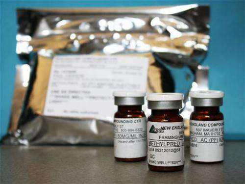 US: Fungus in tainted steroids matches patients