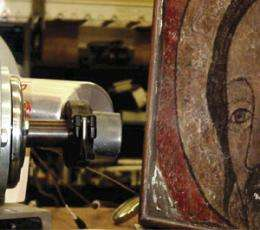 Using ion beams to detect art forgery