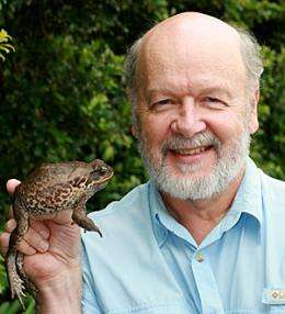 Using the cane toad's poison against itself