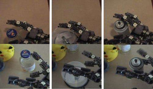 Robot Rebuilt gets a grip on wine-serving robot  (w/ video)