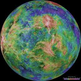 Venus Express unearths new clues to the planet's geological history