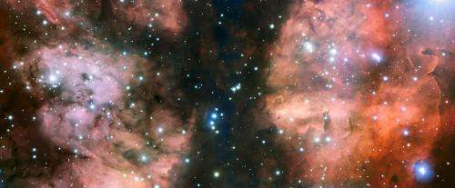 VLT takes a close look at NGC 6357