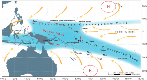Warming causes more extreme shifts of the Southern Hemisphere's largest rain band