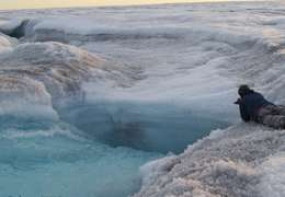 Warming temperatures will change Greenland's face