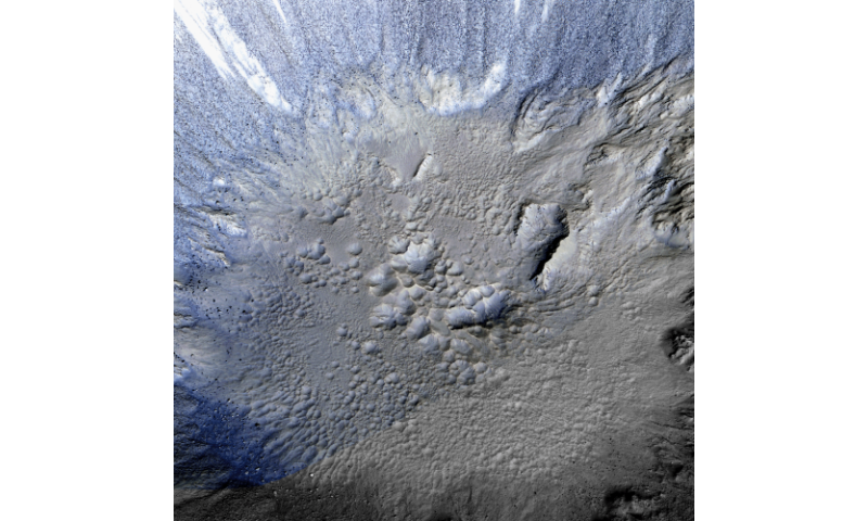 """Western researchers link Martian surface """"oddities"""" with subsurface water and impact craters"""