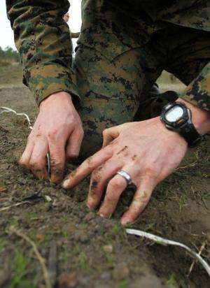 What lurks beneath? Darpa seeks tools for identifying hidden explosives at standoff