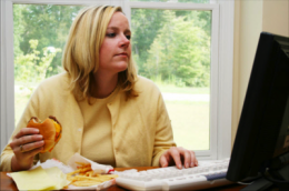 Working women more likely to gain weight