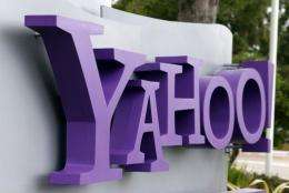 Yahoo! said profit fell four percent to $226.6 million