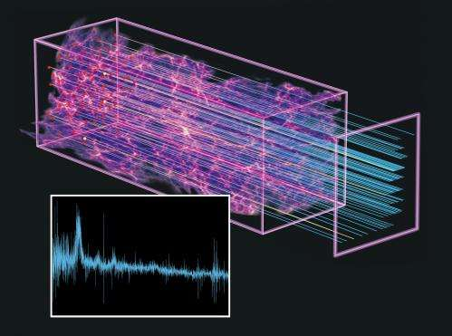 BOSS quasars unveil a new era in the expansion history of the universe