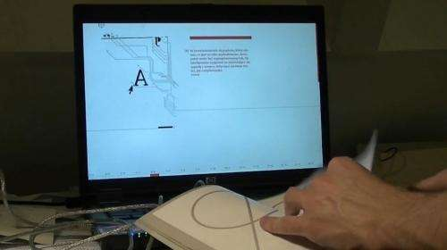 Rethink book as computer interface, says designer (w/ Video)