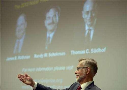2 Americans, German win Nobel medicine prize