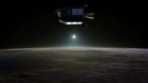NASA Spacecraft Begins Collecting Lunar Atmosphere Data