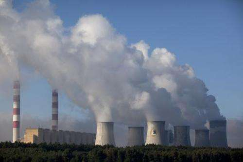 A view of the coal-fired Belchatow power plant on September 28, 2011 in Belchatow, near Lodz central Poland