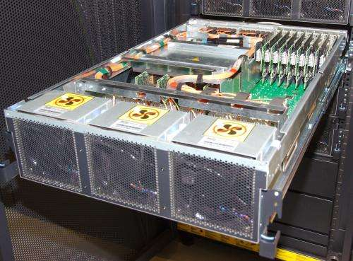 Blue Gene active storage boosts I/O performance at JSC