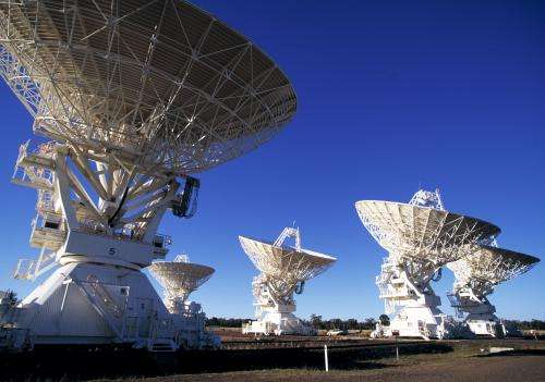 CSIRO telescope marks 25 years of success