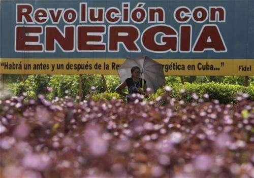 Cuba's 1st solar farm a step toward renewables