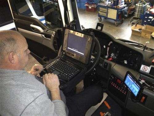 Dutch bus drivers to test fatigue warning tech