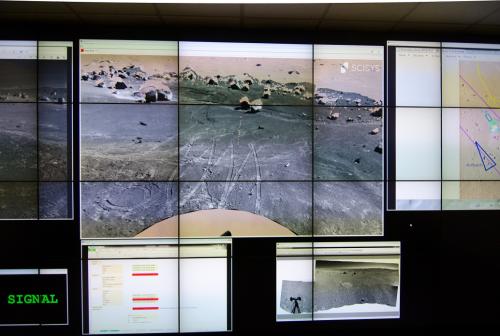 ESA rover completes exploring Mars-like desert