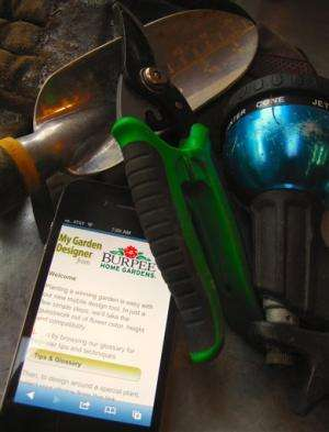 Gardening tools go mobile