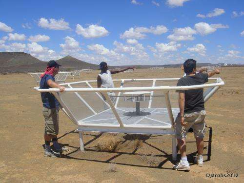 Ground-breaking science and spectacular cosmic images from the PAPER instrument in the Karoo