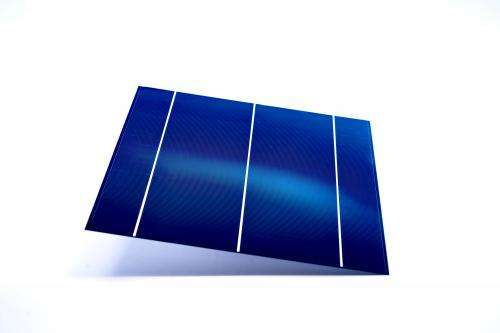 High efficiency from new solar cells
