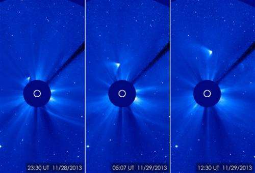 Hubble Telescope best shot at learning comet fate