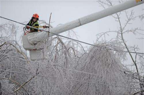 Ice storm leaves 500K without power in US, Canada