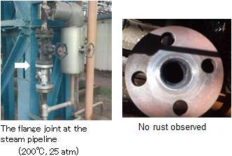 Industrial gasket with excellent sealing properties and electrical insulation