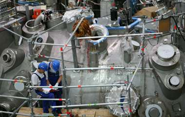 Last steel seam on Wendelstein 7-X closed