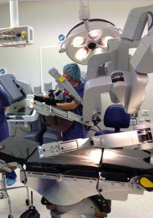 Marking ten years of surgical robots (in a theatre near you)