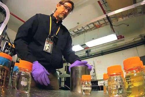 MRI breakthrough for screening liquids
